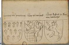 Ortenburger Wappenbuch Bayern, 1466 - 1473 Cod.icon. 308 u  Folio 235r