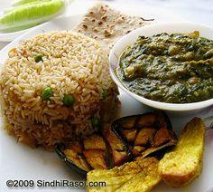 SAIBHAJI AND BHUGAL CHAVAN A Traditional Sindhi Lunch   Sindhi Rasoi  Sindhi Recipes