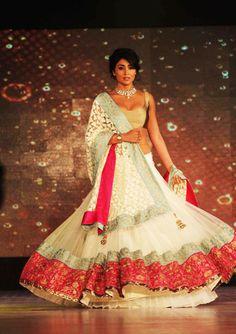 Designer: Manish Malhotra    Model: Shriya Saran.   | love it all.