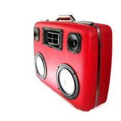 Vintage Suitcase BoomBoxes