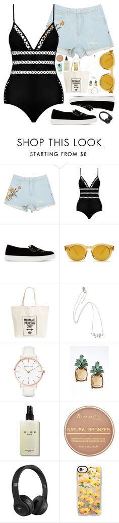 """Bumble Bee Yellow"" by sofia-collins8 ❤ liked on Polyvore featuring Zimmermann, Charlotte Olympia, Workshop 28, Abbott Lyon, Banana Republic, Bobbi Brown Cosmetics, Rimmel, Beats by Dr. Dre and Casetify"
