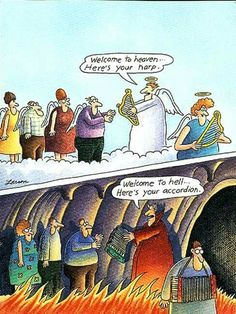 Harp vs. Accordian