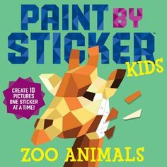 Paint by Sticker Kids: Zoo Animals: Create 10 Pictures On... https://smile.amazon.com/dp/0761189602/ref=cm_sw_r_pi_dp_x_seXhAbEK7MCNY