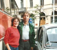 John Denver in Russia in 1985. He was the first American artist to tour there in many, many years and this was very significant at the time -  Anne Wanliss