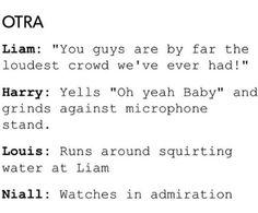 watching concert vids and ya so true. Niall:)
