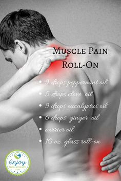 Muscle Pain Roll On - just one of the benefits of eucalyptus oil. See 9 more when you click the image.