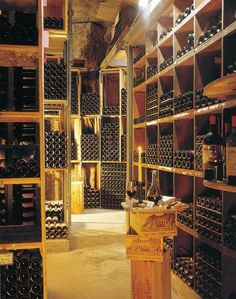 Less a wine cellar, more a wine library