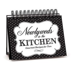 Newlyweds Easel Recipe Book  #wedding #gifts #giftideas #kitchen #home #decor #farmhouse  #accessories #brownlowgifts #brownlow