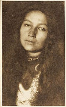 Zitkala-Sa - as photographed by Joseph Kelley in 1901