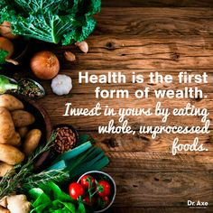 Dr. Axe - Health quote, natural health.