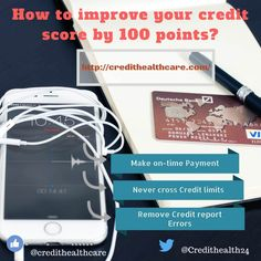 How to Improve Your Credit Score by 100 Points?  #creditscore #credit #credittips #goodcredit #finance #financetips