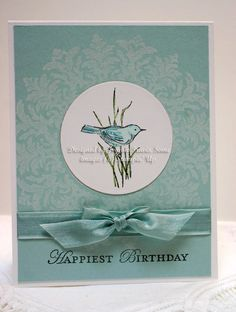Sleepy in Seattle: Simply Sketched Stampin' Up! Bird Cards, Butterfly Cards, Flower Cards, Scrapbooking, Scrapbook Cards, Theme Nature, Asian Cards, Stamping Up Cards, Tampons