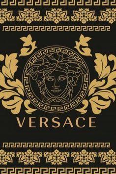 Versace Logo, Versace Shoes, Versace Pattern, Coco Chanel Wallpaper, Gold Versace Wallpaper, Fashion Design Template, Supreme Wallpaper, Drawing Letters, Fashion Wallpaper