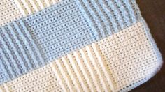 Easy to Crochet Afghan for Beginners -- Youtube tutorial, search for it with the first 6 words of this description. This is the pic at the top of the tutorial. It is just gorgeous!     //     MUST MAKE!