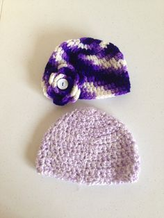 Newborn girl hat  on Etsy, $9.99