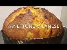 Panettone milanese a lievitazione naturale con impastatrice a spirale Sunmix - YouTube