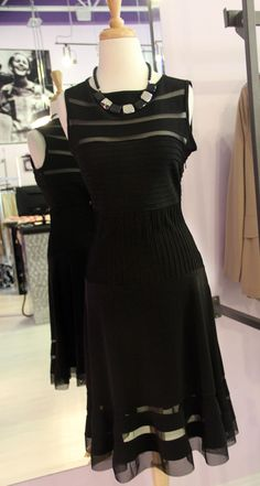 That little black dress...CLASSIC! Plus the Joseph Ribkoff line is washable too! One Left in a size 6!