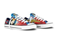 Wonder Woman Converse sneakers. Need I say more?