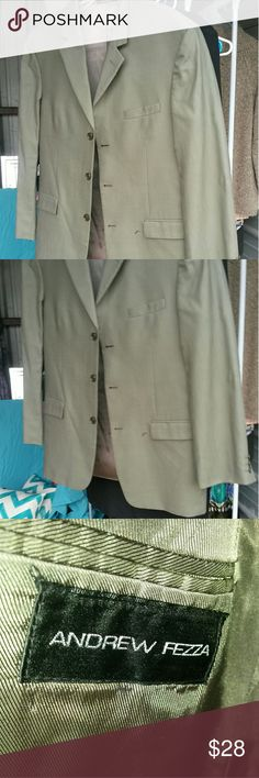 Selling this Men's suit Mellow green. Price slashed!! on Poshmark! My username is: silkytg. #shopmycloset #poshmark #fashion #shopping #style #forsale #Andrew Fezza #Other