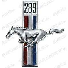 Scott Drake Fender Emblem Running Horse