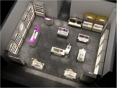 cosmetic retail display-2