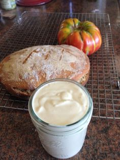 Aioli (Garlic Mayonnaise) made from cashews, lemon, dijon mustard, silken tofu, and garlic. Can also add ketchup and pickle relish to make Thousand Island. By Reluctant Vegan (And Oil Free) blog