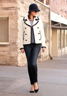 What I Wore: Winter Nautical