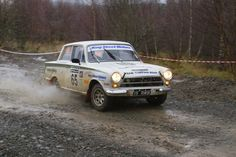 Ford Lotus Cortina at the 2012 RAC Rally - Stage 19