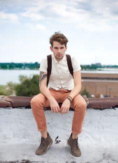 nice slacks, and nice attitude