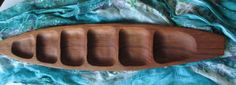 New to lingerawhile on Etsy: Mid Century Handcarved Narrow Teak Tray (24.00 USD)