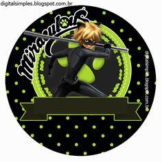Kit festa de Aniversário Desenho Miraculous As aventuras de Ladybug e Cat Noir, para meninos. Cumpleaños Lady Bug, Catnoir And Ladybug, Miraculous Ladybug Party, Diy Party, Holidays And Events, Party Themes, 9th Birthday, Cats, Tent Cards