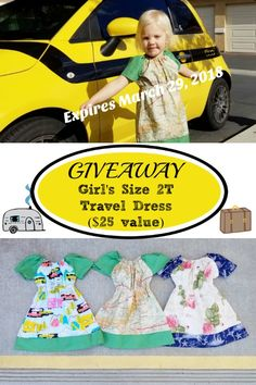 These darling cotton dresses make the best travel clothes for little girls: use as a dress, swimsuit cover, or tunic paired with leggings or bike shorts. One lucky winner will win a dress -- it could be you! Travel Info, Work Travel, Train Travel, Travel Tips, Best Travel Clothes, Travel Crafts, Family Destinations, Swimsuit Cover, Wanderlust Travel