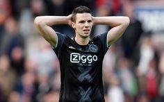 Lataa kuva Nick Viergever, 4k, jalkapalloilija, puolustaja, Ajax, jalkapallo