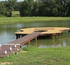 Pretty cool boat dock
