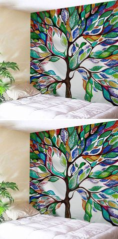 home decor:Wall Hanging Fabric Tapestry For Dorm