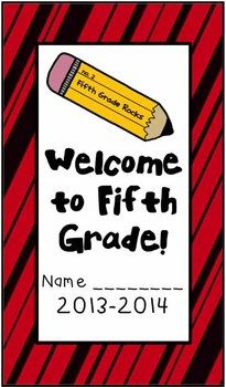 Welcome to Fifth Grade (Back to School Book)