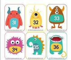 Barajas monstruos y números. ABN. Ideas para, el aula
