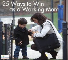 """Winning As a Working Mom - Tips & Advice from a Forbes Article.  Love these- especially the """"golden triangle""""!  It's the little things that keep everything running! Really helps to read this when you feel overwhelmed"""