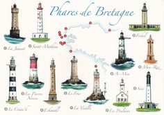 lighthouses in bretagne - Google zoeken