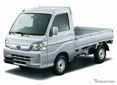 新型サンバーは、ダイハツ『ハイゼット』シリーズのOEM供給となる。    価格はトラックが61万9400から、バンが91万3650円から。    (via http://response.jp/article/img/2012/04/02/172327/423745.html )