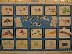 Every child gets their own noun poster to color and identifies the grammar rule that turned their noun from singular to plural ! This is a really fun grammar project. The kids loved it and my admin loved the kid's presentations!