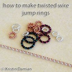 [Have to create a free account] Twisted Jump Rings   JewelryLessons.com