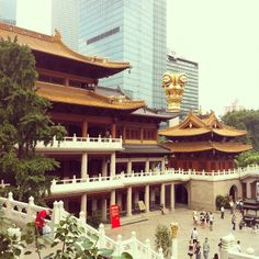 静安寺 Jing'an Temple in Xinzhuang, 上海