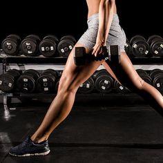 Sculpt and tone your legs with these lower body weight exercises.