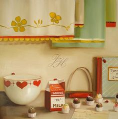 The Ladybugs Love Chocolate by janet hill