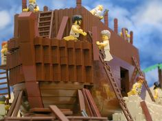 Bible Stories with LEGO graphics! My son loves this! WARNING some stories are rated.