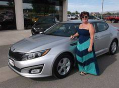 Alan's new 2014 KIA OPTIMA! Congratulations and best wishes from Grand West Kia and MICHAEL MARTINEZ.