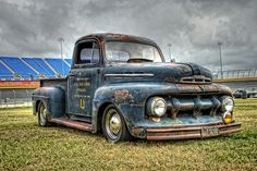 1951 Ford F-1 Rat Truck at the Southeastern Nationals