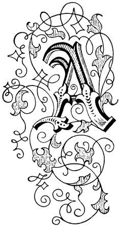 Letter Art ::source for decorative cap ideas