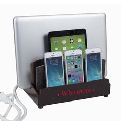 Ultra Charging Station with 6-Outlet Power Strip For the